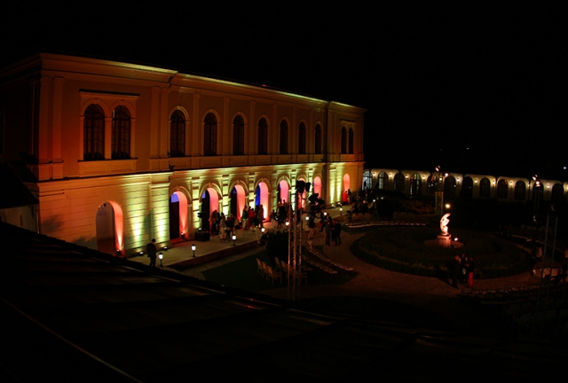 Anna Grand Hotel by night